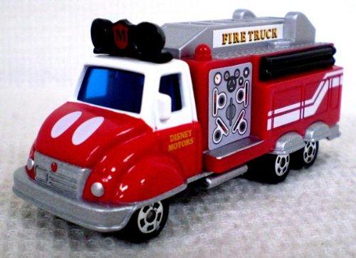 ジョリーフロート/ファイヤートラック ミッキーマウス(レッド×シルバー) 「トミカ ディズニー モータース DM-11」の商品画像