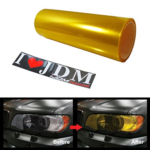 12-by-48-inches-self-adhesive-jdm-golden-yellow-headlights-or-fog-lights-tint-vinyl-film