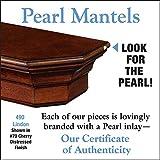 Pearl Mantels 490-60-40 Lindon Wood 60-Inch