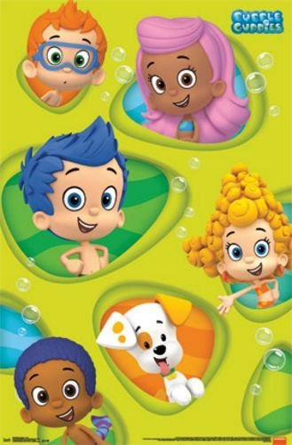 Amazon.com: Trends Intl. Bubble Guppies Grid Poster, 24-Inch by 36 ...
