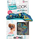 Scunci Get the Look Bun Maker 6 Piece Kit (2 Packs)