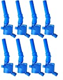 Pack of 8 High Performance Ignition Coils for Ford Lincoln Mercury 4.6l 5.4l V8 Compatible with 1L2U12029AA 1L2U12A366A 3W7E12A366AA 3W7EAA
