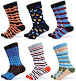 Gallery Seven Mens Dress Socks – Funky Colorful Socks for Men