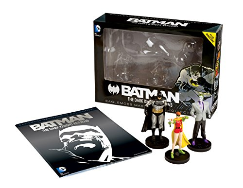 Eaglemoss DC Masterpiece Collection: The Dark Knight Returns Figurine Box Set (Dark Knight Collection)