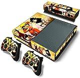 Cheap ModFreakz™ Console/Controller Vinyl Skin Set – Ninja Naruto Uzumaki for Xbox One Original