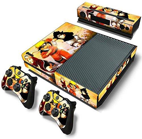 ModFreakz™ Console/Controller Vinyl Skin Set - Ninja Naruto Uzumaki for Xbox One Original