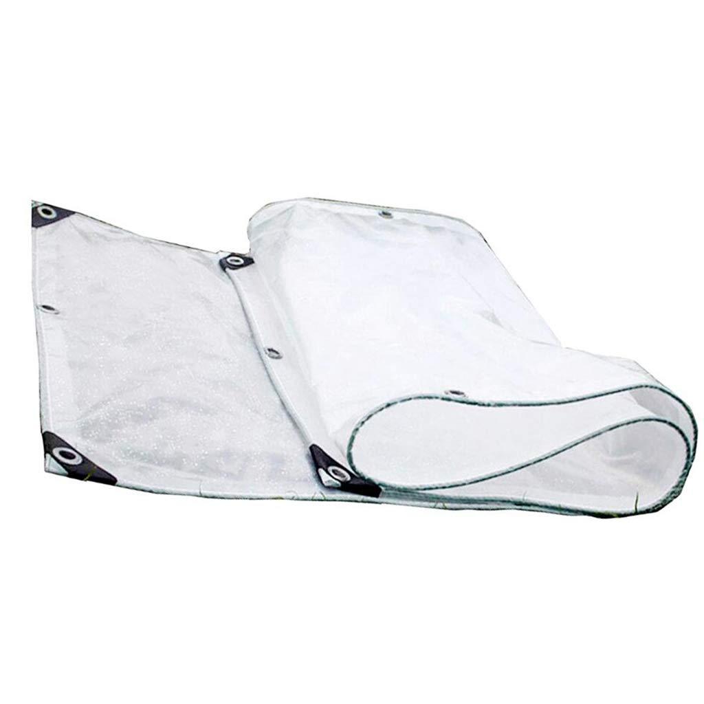 23M BÂche de Prougeection Double Couche Transparent Tissu Imperméable à La Pluie Sun Room Balcon Fenêtre Coupe Vent Coupe Vent Plaque Lourde Plantes Succulentes 2  3 M (Taille   3  3M)