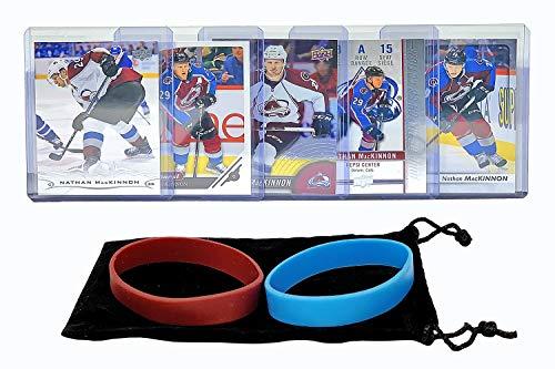Nathan MacKinnon (5) Assorted Hockey Cards Bundle - Colorado Avalanche Trading Card
