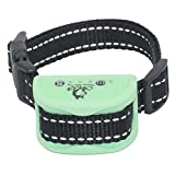 Superior Bark Collar for XS - Small Sensitive Type Dogs - Rechargeable No Pain Anti Bark Collar - 5lb to 35lb – No More Expensive Batteries – Mint - Easy to Set Up & Use