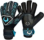 Renegade GK Triton Goalie Gloves with Microbe-Guard (Sizes 5-11, 3 Styles, Level 2) Pro-Tek Fingersaves &