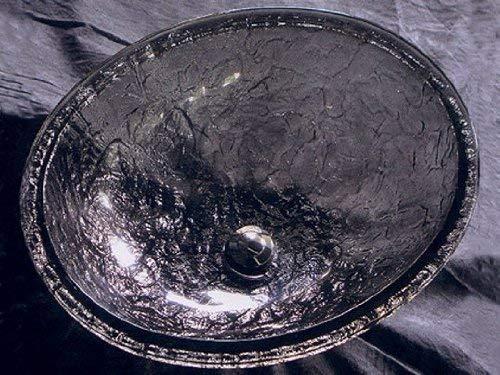JSG Oceana 007-007-022 Bathroom Undermount, Black Nickel