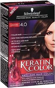 Schwarzkopf Keratin Hair Color, Capuccino 4.0, 2.03 Ounce by Schwarzkopf