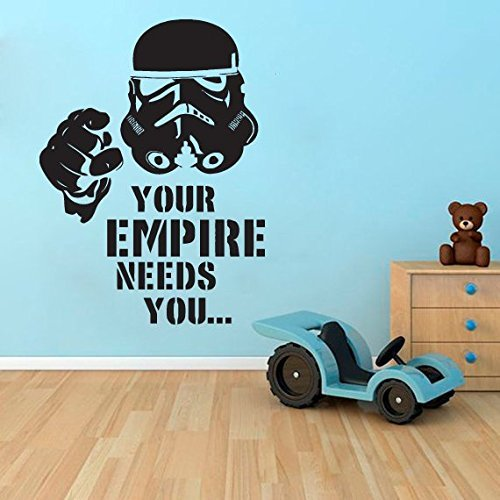 Star Wars Wall Decal Stormtrooper Vinyl Decal Star Wars Wall Sticker star wars wall decals for kids rooms star wars wall decal quotes -