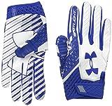 Under Armour Men's Spotlight Football Gloves,Royal (400)/Royal, Small/Medium
