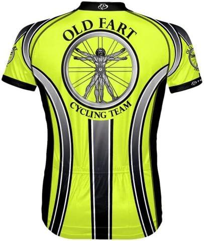 sox Primal Wear Old Fart Atlas Cycling Jersey Men/'s short sleeve bicycle bike