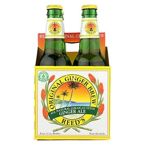 Reed's Ginger Beer Ginger Brew - Original - Case of 6 - 12 Fl oz. by Reed'S Ginger Beer