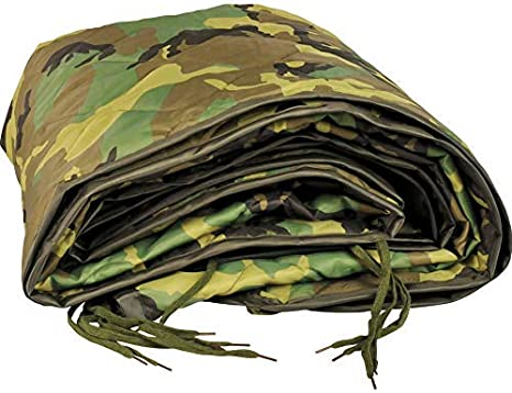 5ive Star Gear US Military Specs Quilted Nylon Shell Polyester Poncho Liners