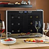 Wine Enthusiast Silent 12 Bottle 2-Temp Touchscreen Wine Refrigerator
