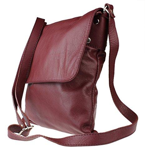Oscuro Rojo Bolso Mujer Bandolera Girly Renata Handbags nqgwX4q1Y