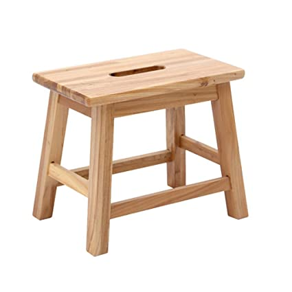 Amazon Com Yangxiaoyu Small Wooden Stool Home Small Stool Modern