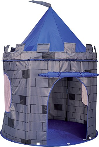 Knight's Castle Pop Up Kids Playhouse Tent - Blue