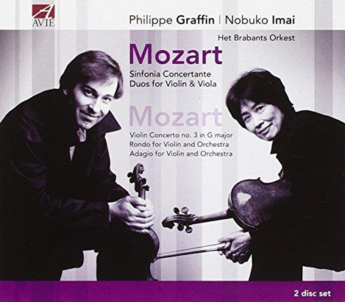 Mozart: Sinfonia Concertante; Duos For Violin & Viola