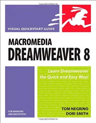 macromedia dreamweaver 8 for windows and macintosh visual quickstart rh amazon de Macromedia Product Logos Macromedia Dreamweaver 4