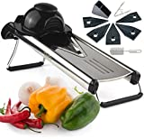 Chef's INSPIRATIONS Premium V-Blade Mandoline Slicer, Cutter and...