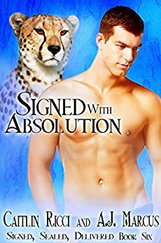Signed with Absolution (Signed, Sealed, Delivered Book 6) by [Ricci, Caitlin, Marcus, A.J.]