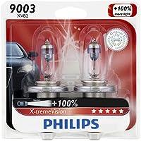2-Pack Philips 9003 X-tremeVision Upgrade Headlight Bulb