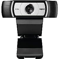 Logitech C930e Business-webbkamera, Full-HD 1080p, 90° synfält, 4-delad zoom, autofokus, RightLight 2-teknik, täckskydd…