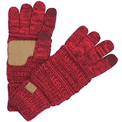 BYSUMMER C.C Smart Touch Tip Cold Weather Best Winter Gloves