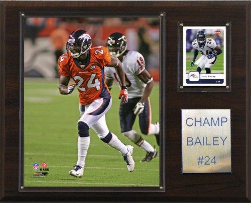 NFL Champ Bailey Denver Broncos Player Plaque
