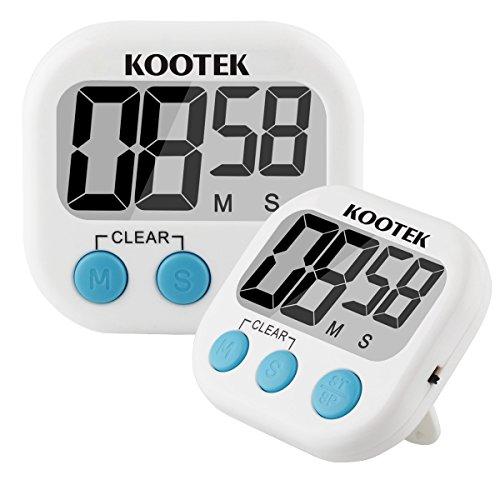 Kootek Digital Magnetic Retractable Countdown