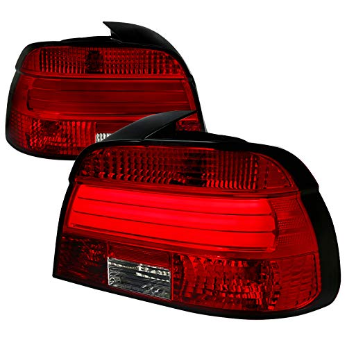 Velocity Concepts For E39 5-Series M5 525i 530i 540i Red/Clear Lens LED Tail Lights