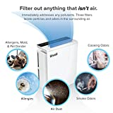LEVOIT LV-PUR131 Air Purifier with True HEPA Filter, Air Cleaner for Large Room, Allergies, Dust, Smoke, Pets, Smokers, Odor Eliminator, Home Air Quality Monitor, Energy Star, US-120V, 2-Year Warranty