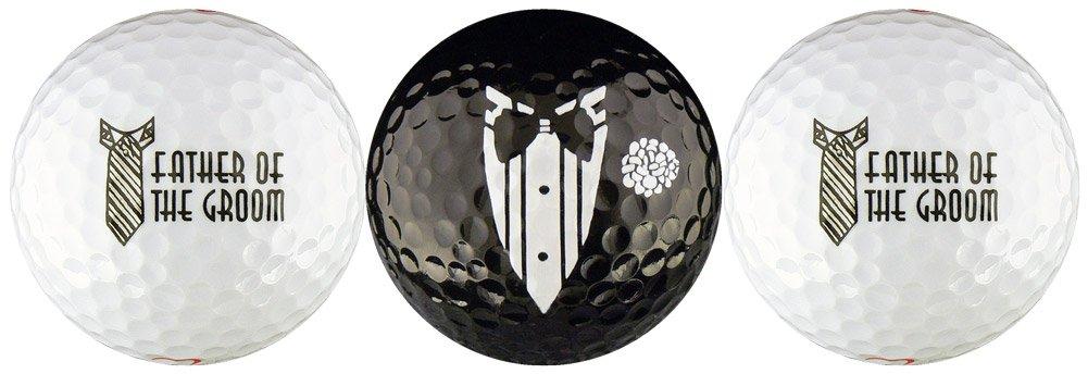EnjoyLife Inc Father of The Groom Wedding Variety Golf Ball Gift Set by EnjoyLife Inc