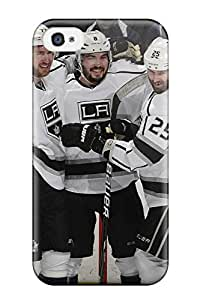 New Style los/angeles/kings los angeles kings (35) NHL Sports & Colleges fashionable iPhone 4/4s cases