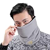 Seamless Bandanas Face Mask Headband Scarf Headwrap Neck Warmer Multifunctional for Music Festivals Raves Riding Outdoors Gray