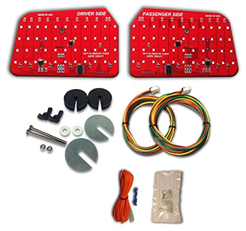 1971 Plymouth 'cuda Sequential LED Tail Light Kit