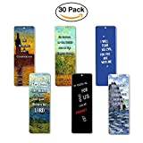 Christian Bookmarks - Be Strong (30-Pack)  Be Strong and Courageous  Be Strong In the Lord and In His Mighty Power  I Will Fear No Evil for You are with Me  For I Know the Plans I Have For You  If God is for us, who can be against us  The Lo...