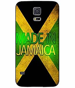 Made in Jamaica TPU RUBBER SILICONE Phone Case Back Cover Samsung Galaxy S5 I9600