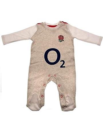 51217eb5e10 England Rugby Baby Grow/Sleep Suit England R.F.U Infant White