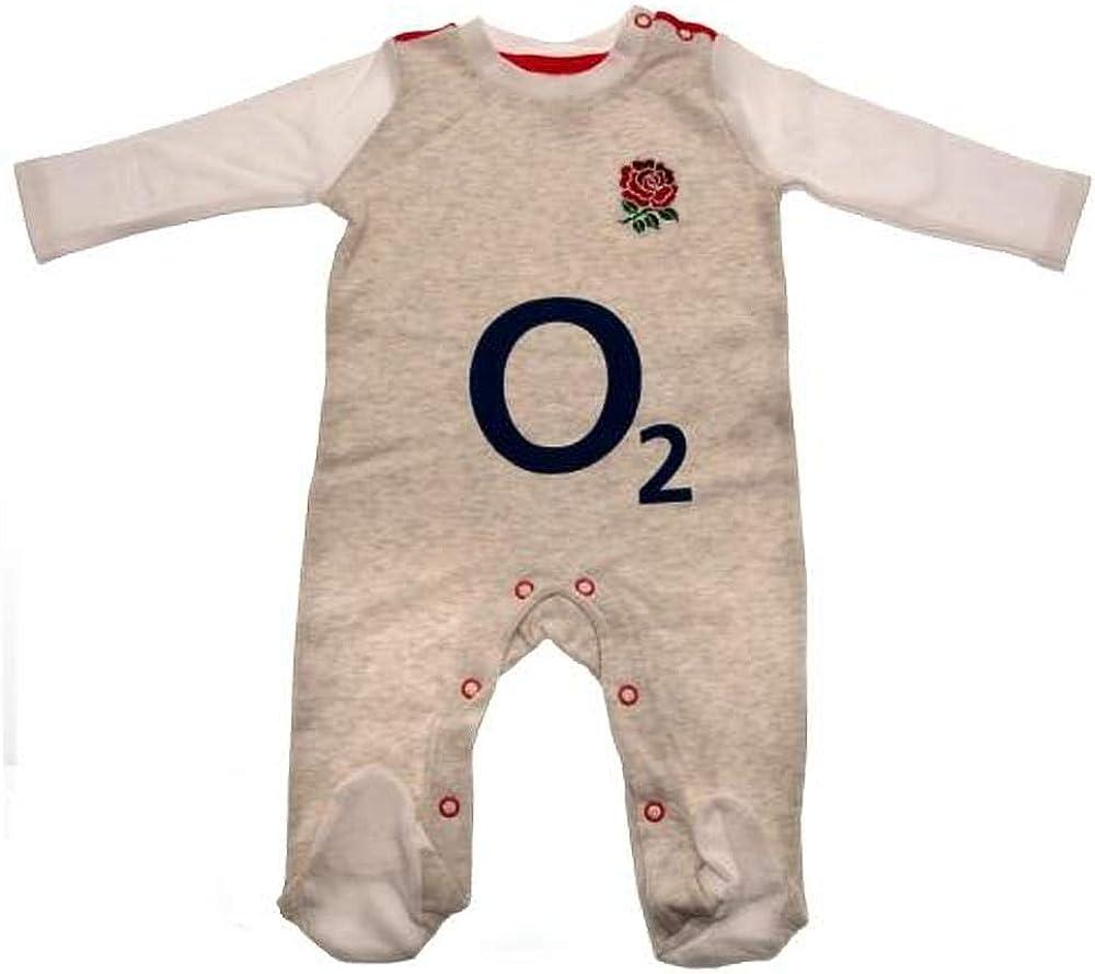 England Rugby Baby Boys RFU Sleepsuit
