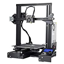 Comgrow Creality 3D Ender 3 3D Printer Aluminum DIY 3D Printer with Resume Print 220x220x250mm