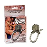 California Exotics Vibrating Cinch Ring, Smoke