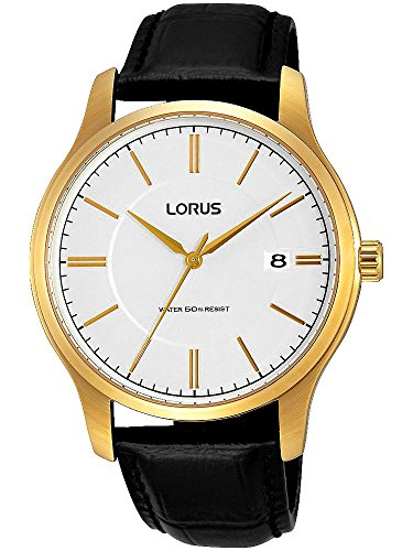 Lorus Watch 42mm Japan-movement goldene RS966BX9