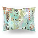 Society6 ''Fly Free Between'' Original Painting By Flora Bowley Pillow Sham Standard (20'' x 26'') Set of 2
