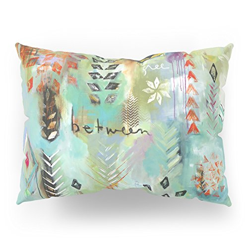 Society6 ''Fly Free Between'' Original Painting By Flora Bowley Pillow Sham Standard (20'' x 26'') Set of 2 by Society6