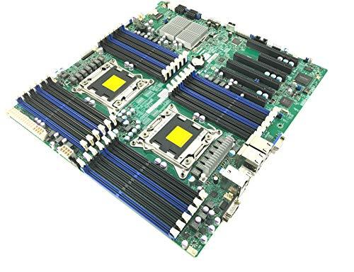 Sdram 72 Bit 240 Pin - Supermicro Dual Intel Socket Lga2011 E-ATX Rev 1.20 System Board with I/O Plate
